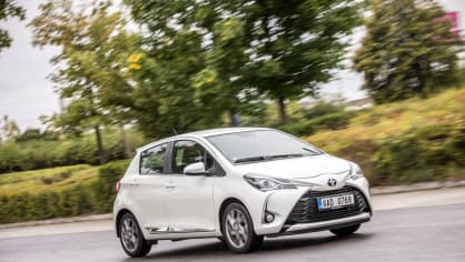 Toyota Yaris 1.5 VVT-iE jízda 3