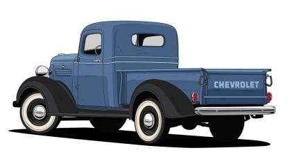 Historie pickupů od Chevroletu. 6