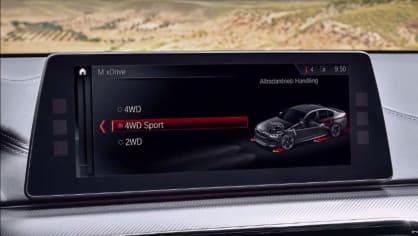 BMW M5 2018, 4