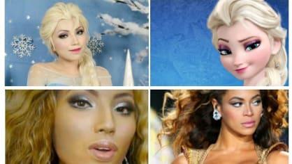Dívka se dokáže stát kýmkoli, jen za použití make upu