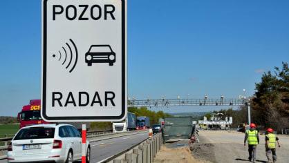 Radary na D1 už rozdaly desítky tisíc pokut. Provoz je klidnější 6