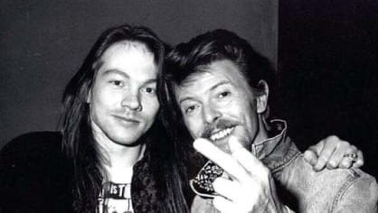 Axel Rose a David Bowie