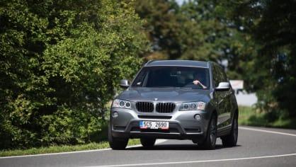 BMW X3 xDrive20d jízda 7
