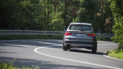 BMW X3 xDrive20d jízda 8