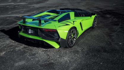 Lamborghini Aventador LP 750-4 SV Roadster od Novitec 22
