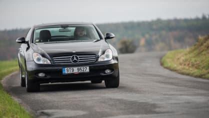 Mercedes-Benz CLS 320 CDI jízda 8