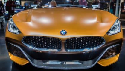 Působivé koncepty BMW na stánku ve Frankfurtu 5