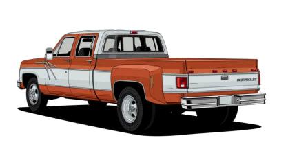 Historie pickupů od Chevroletu. 14