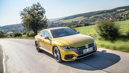 Volkswagen Arteon R-Line 2.0 TSI jízda 15