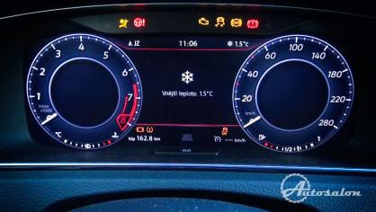 Interiér  VW Golf GTI 2