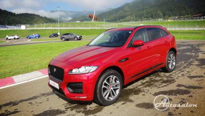 Jaguar - palba na okruhu 3