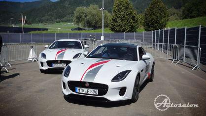 Jaguar - palba na okruhu 11