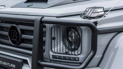 Mercedes G500 4x4² upravený od Brabusu 11