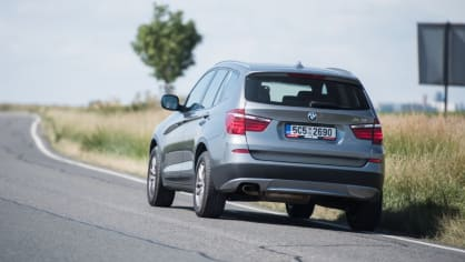BMW X3 xDrive20d exteriér 3