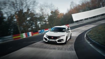 Nejrychlejší předokolka je Civic Type R - Obrázek 2