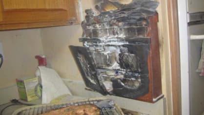 Není nad skoro podpálenou kuchyň.