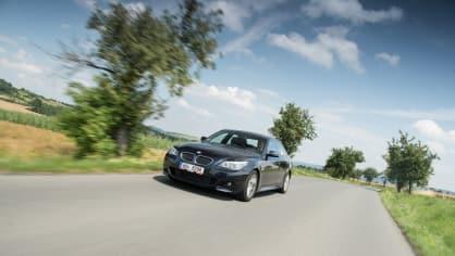 BMW 530i E60 jízda 15