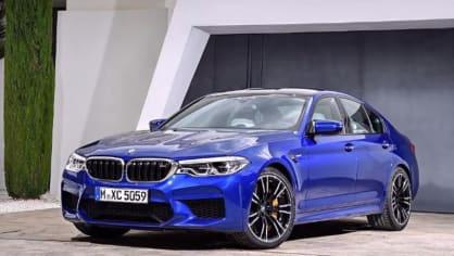 BMW M5 2018, 2