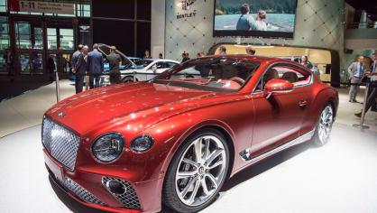 Bentley Continental GT 2018 7