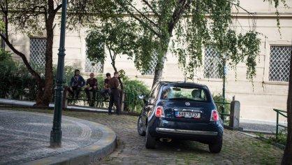 Fiat 500 1.4 16v ve městě 7