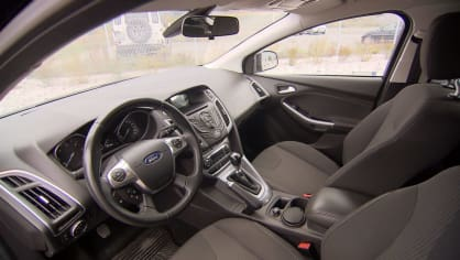 Test ojetiny Ford Focus 15