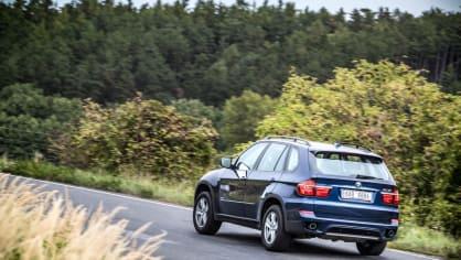 BMW X5 xDrive30d jízda 11