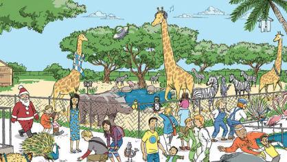 Optická hádanka - Zoo