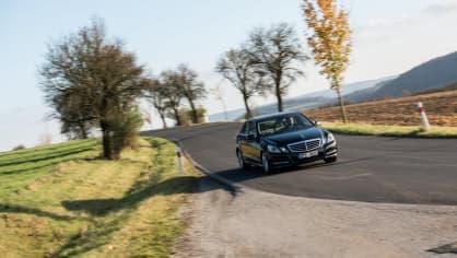 Mercedes-Benz E 220 CDI jízda 2
