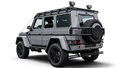 Mercedes G500 4x4² upravený od Brabusu 4