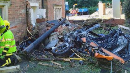 Nehoda McLarenu 570S 6