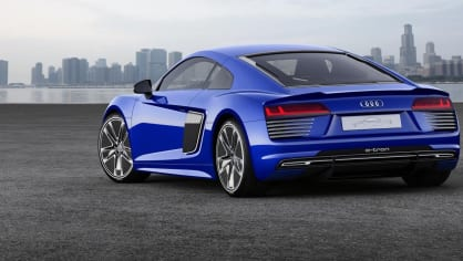 Audi R8 e-tron piloted driving concept  - Obrázek 3
