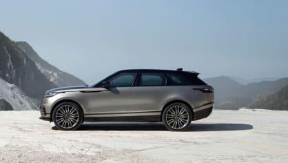 Uhlazené linie Range Roveru Velar. 8