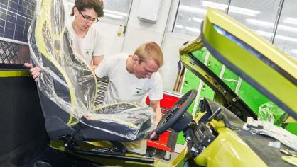 Výroba elektrické buginy Škoda Element 4