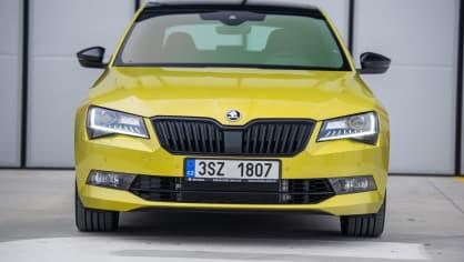Škoda Superb 2.0 TSI 11