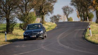Mercedes-Benz E 220 CDI jízda 6