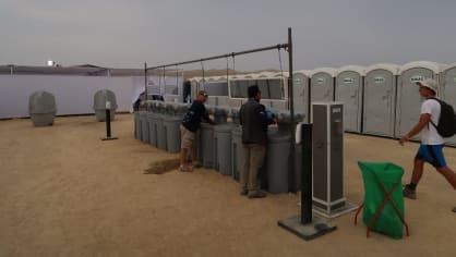 Dakarská koupelna se záchody