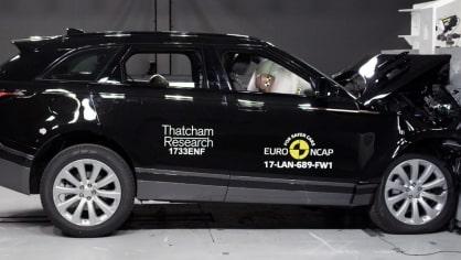 Range Rover Velar Euro NCAP 3