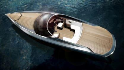Aston Martin nabízí luxusní jachtu AM37 i ponorku Neptune. 9