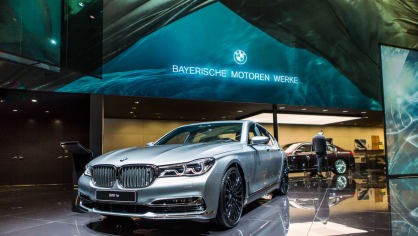 Novinky BMW na stánku ve Frankfurtu. 18