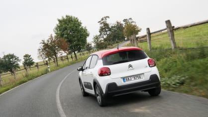 Citroën C3 1.2 PureTech jízda 13