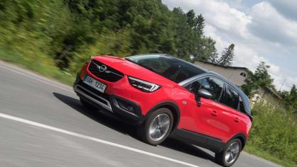 Opel Crossland X jízda 7