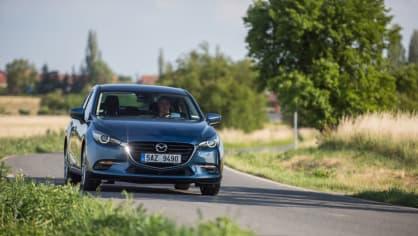 Mazda 3 má sportovní ambice. 1