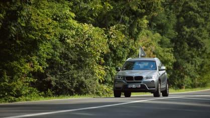 BMW X3 xDrive20d jízda 10