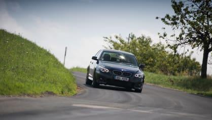 BMW 530i E60 jízda 5
