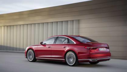 Vlajková loď Audi odhalena. Nová A8 9