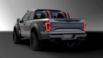 Ford postavil extrémní Raptor inspirovaný neviditelnou stíhačkou 4