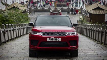 Range Rover Sport vyšplhal až k Nebeské bráně