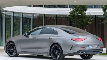 Mercedes-Benz CLS 2018 únik 4