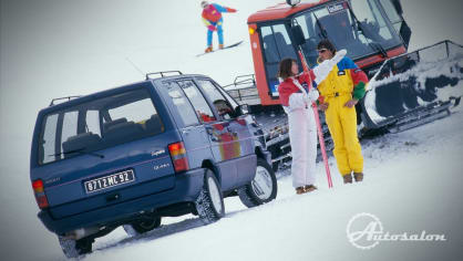 Renault Espace první generace Quadra AWD 1