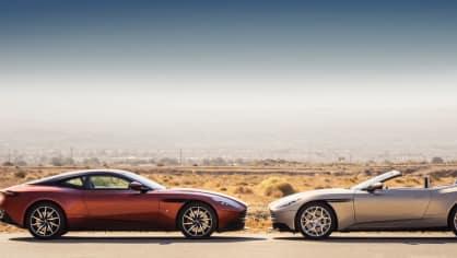 Nádherný roadster Aston Martin DB11 Volante. 23